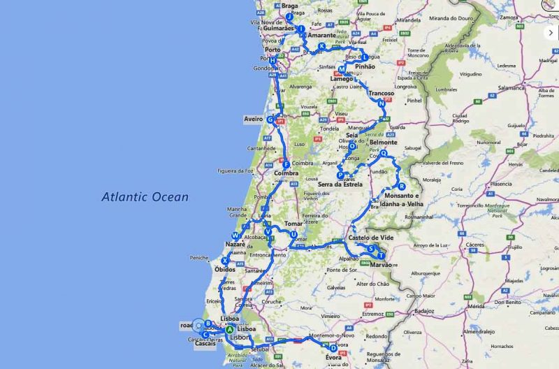 10 días en Portugal