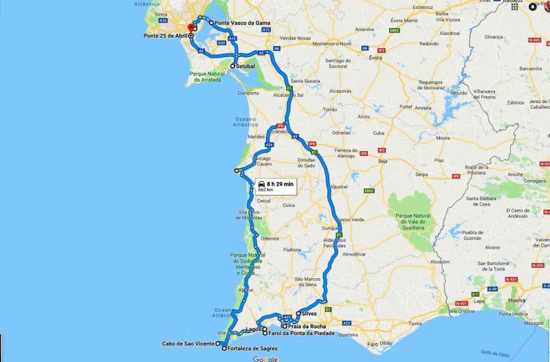 2 Days in Algarve