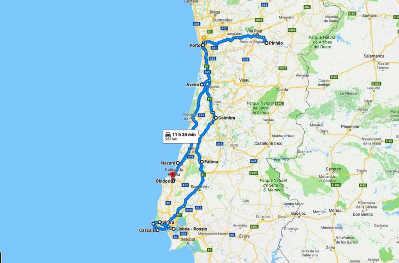 6 day trip in Portugal