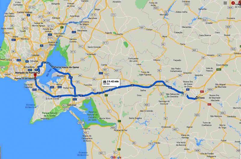Full day tour Evora Monsaraz
