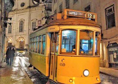 Passeio noturno Lisboa