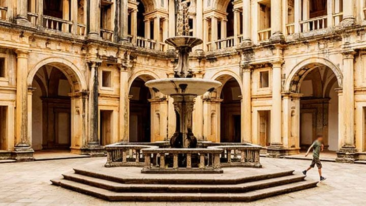 Passeio Tomar Convento de Cristo e Coimbra