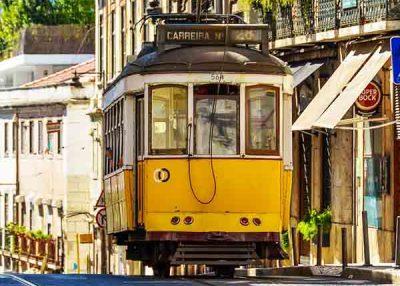 Recorrido a pie por Lisboa con tranvia incluido - 4h
