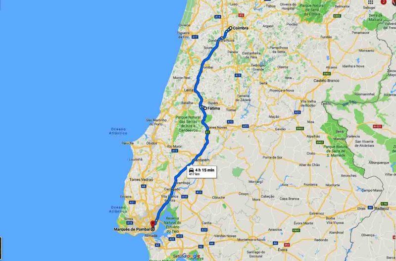 Tour Fatima e Coimbra