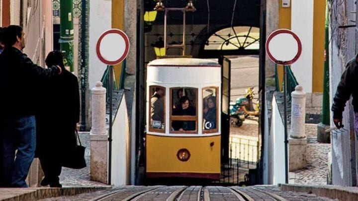 Walking tour in Lisbon and old tram ride